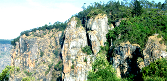 The Pillar Rocks